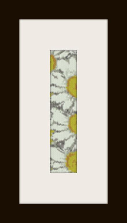 PDF schema bracciale Margherite in stitch peyote pattern - solo per uso personale