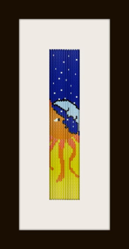 PDF schema bracciale Night&Day in stitch peyote pattern - solo per uso personale