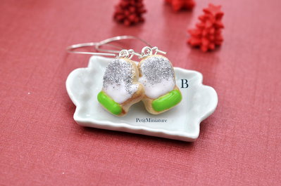 Orecchini Biscotto Guanto-Collezione Natale-Gioielli Natale