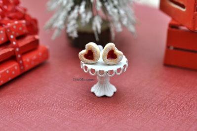 Orecchini Biscotto Cuore alla fragola-Collezione Natale-Gioielli Natale