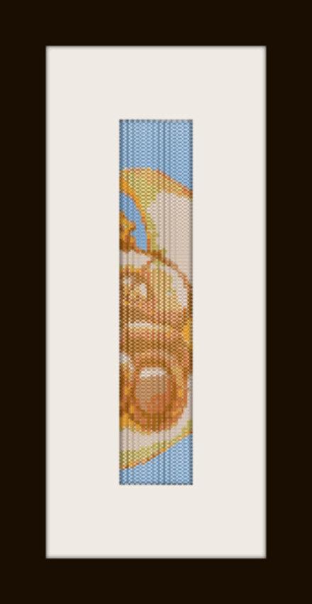 PDF schema bracciale Orsetto in stitch peyote pattern - solo per uso personale