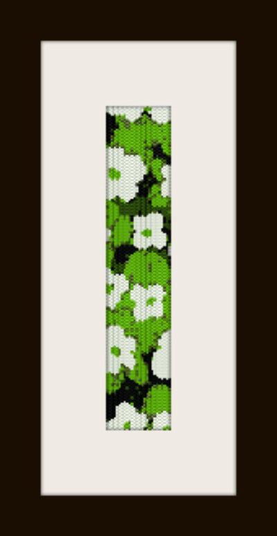 PDF schema bracciale Prato in stitch peyote pattern - solo per uso personale