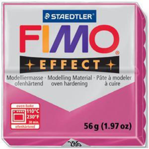 Panetto Fimo Effect 56 gr. - n. 286 Cristal Rubino