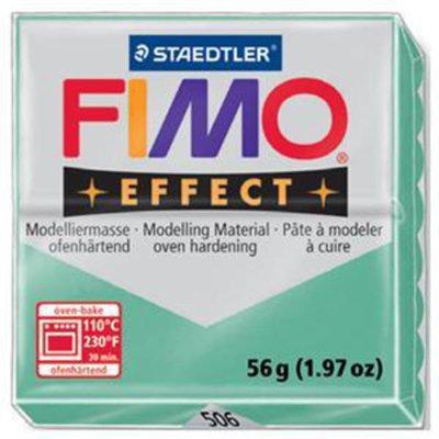 Panetto Fimo Effect 56 gr. - n. 506 Cristal Giada