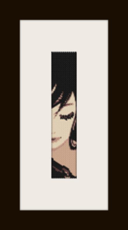 PDF schema bracciale Girl in stitch peyote pattern - solo per uso personale