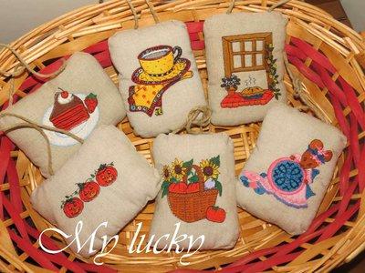 Country pillows da maniglia.