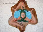 """Scultura da parete """"TRINACRIA"""""""