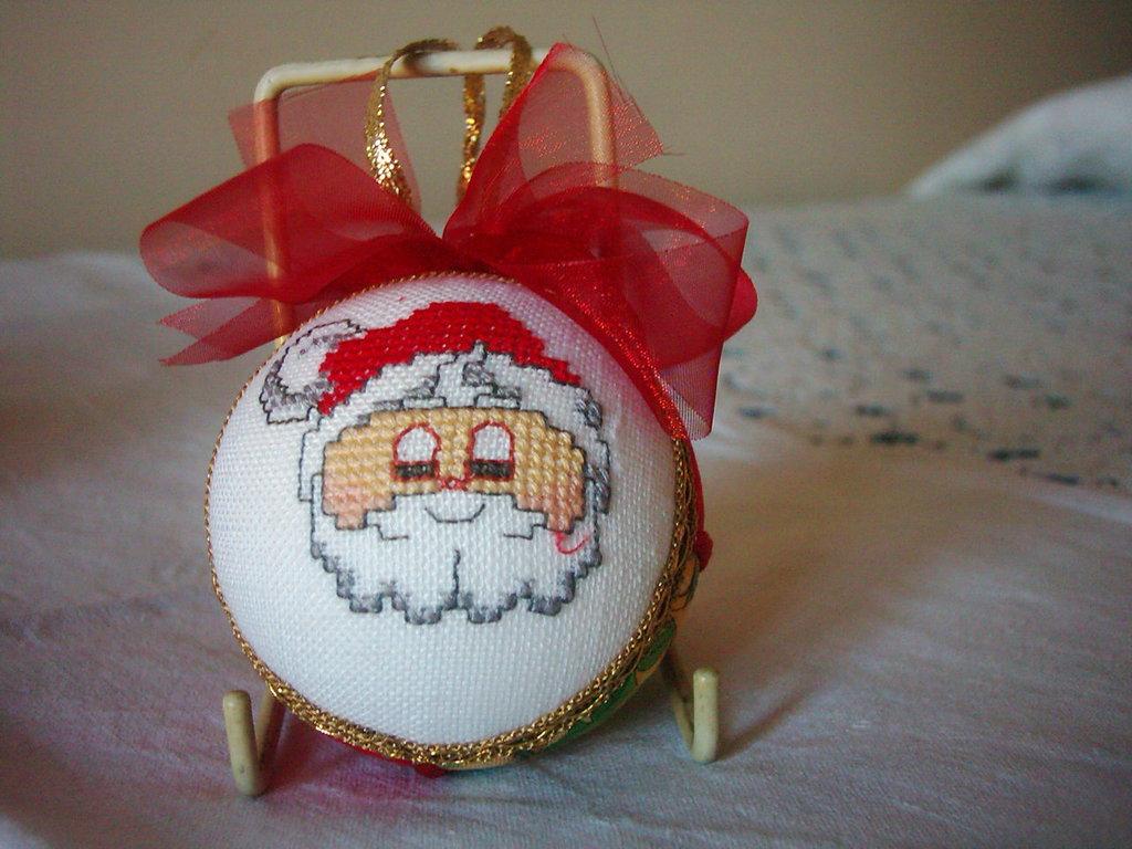 Sfera Natalizia Babbo Natale