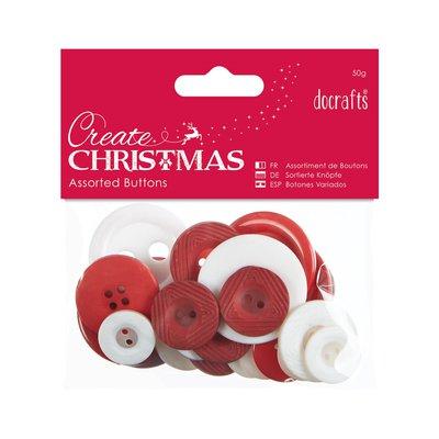 Mix 50 gr bottoni - Nordic Christmas
