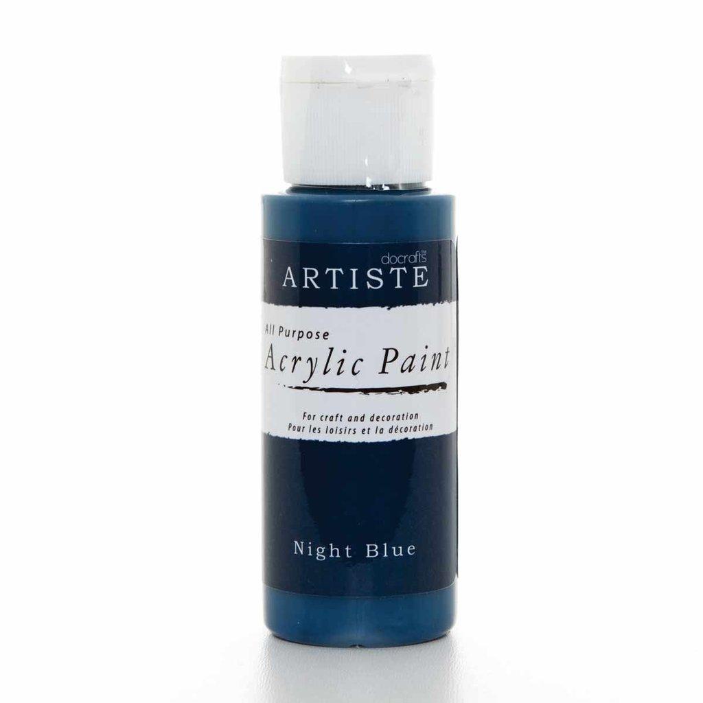 Colore acrilico - Night Blue