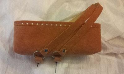 kit Fondo alto e coppia manici in effetto dainetto per borse in fettuccia