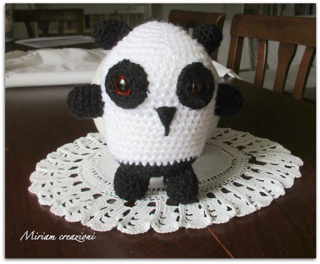 Orsetto Panda Amigurumi
