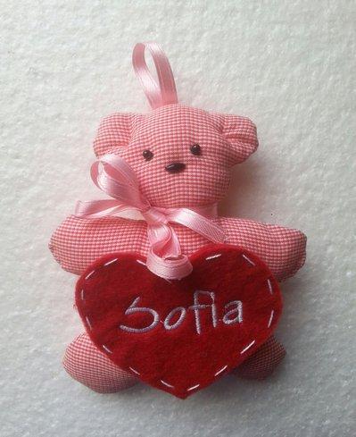 Bomboniera orsetto personalizzato col nome