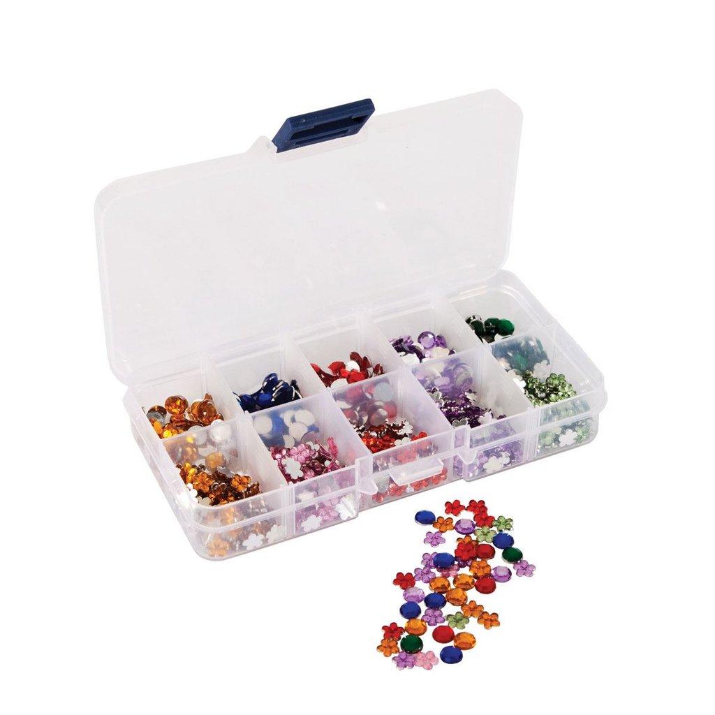 Mini Organiser con gemme - Florals & Stones