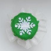 Coprivasetto in feltro e tulle per decorare i vostri golosi regali natalizi!