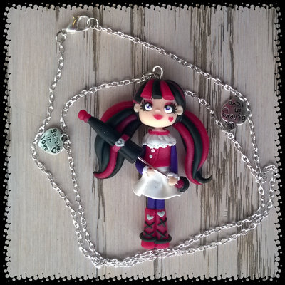 Collana con ciondolo Draculaura - offerta dedicata a Elisa 2010
