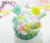 Pastel Cupcake { sax blue }