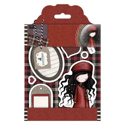 """Rubber Stamps - Gorjuss Tweed """"The Winter's Night"""""""