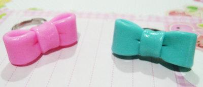 Pastel bow { rosa }