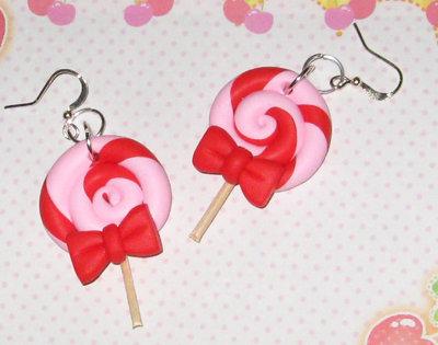 Lollipop orecchini ☆ rosaxrosso