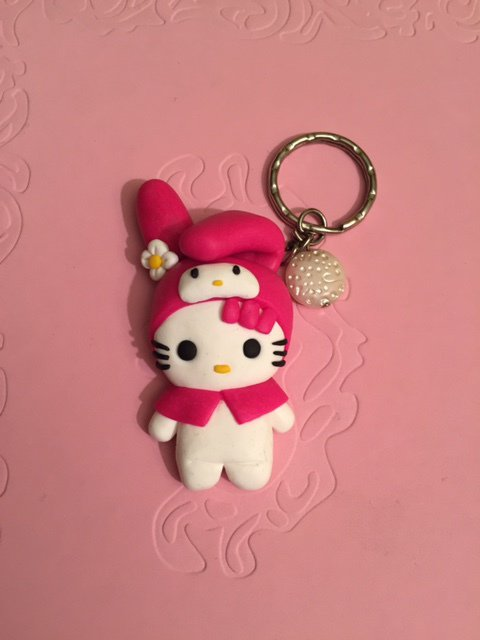 Hello Kitty (my Melody) portachiavi