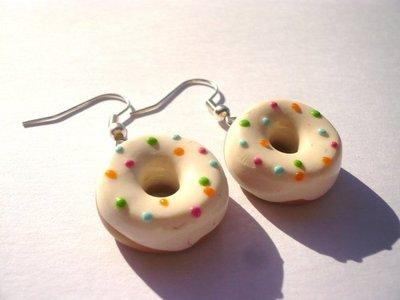 orecchini donuts, ciambelline