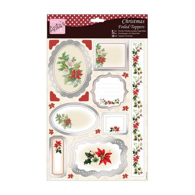 Foiled Toppers & Paper Pack  - Seasonal Bouquet