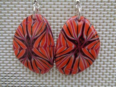 Orecchini colore arancio