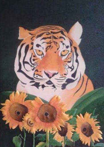 """Dipinto olio su tela """"Kōan"""""""