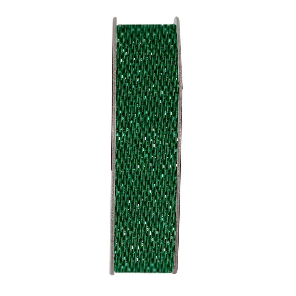 Nastro satinato - Glitter Evergreen