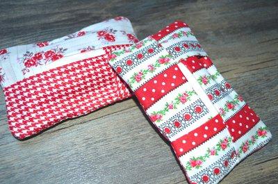 Porta fazzoletti in tessuto