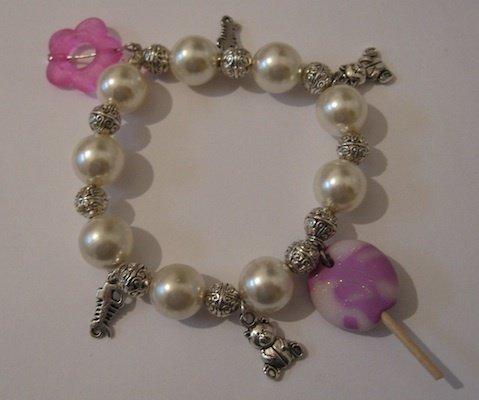 Lollipop bracciale perle
