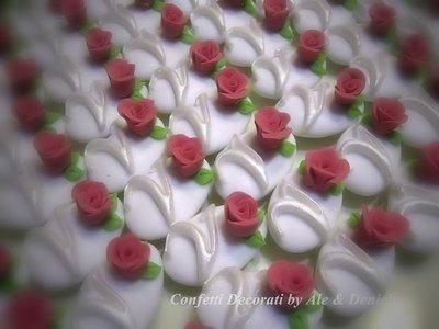 confetti decorati in astuccio