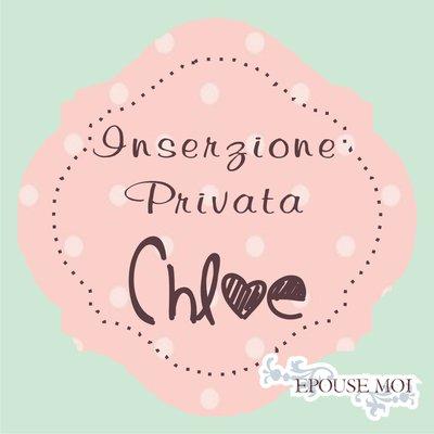 Inserzione riservata Chloe