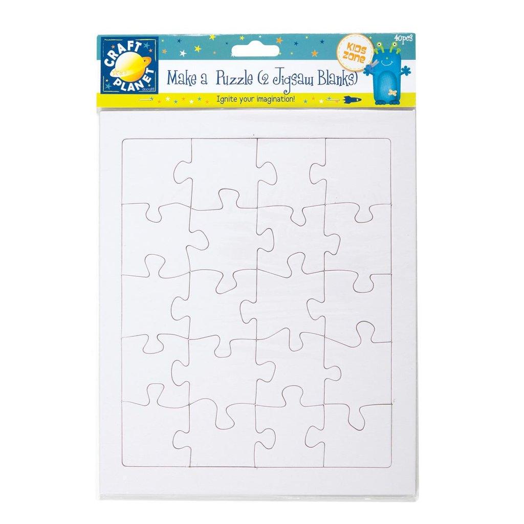 Make A Puzzle - 2 Fogli bianchi