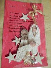 Natività decorazione natalizia