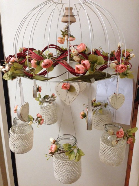 Ghirlanda porta candele per la casa e per te decorare - Ghirlanda porta ...