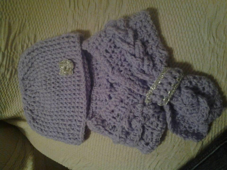 Cappello e sciarpa bimba