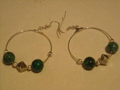 orecchini a cerchio