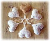 Cuore con farfalle...un'idea per Natale e non solo.
