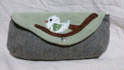 Pochette in lana