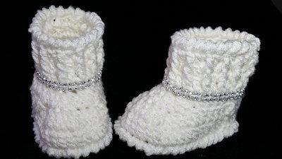 elegante stivaletti neonata