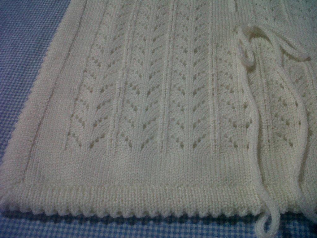 Copertina per carrozzina o culla, per bimbo o bimba, in pura lana
