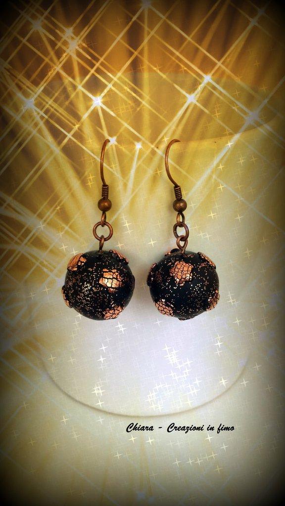 Orecchini in fimo handmade eleganti idee regalo donna