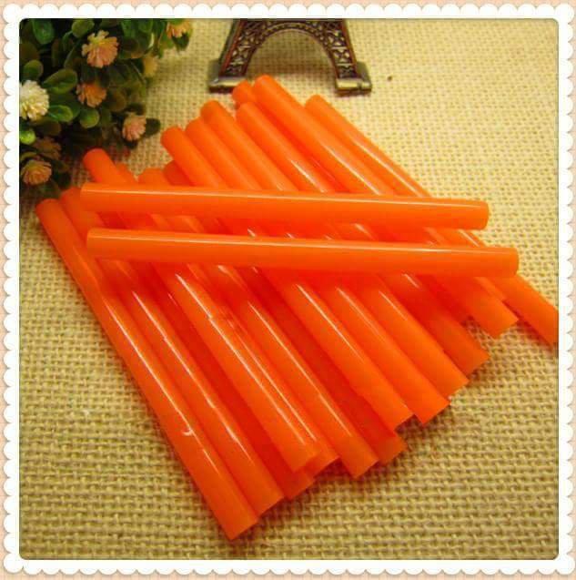Stick colla a caldo arancione