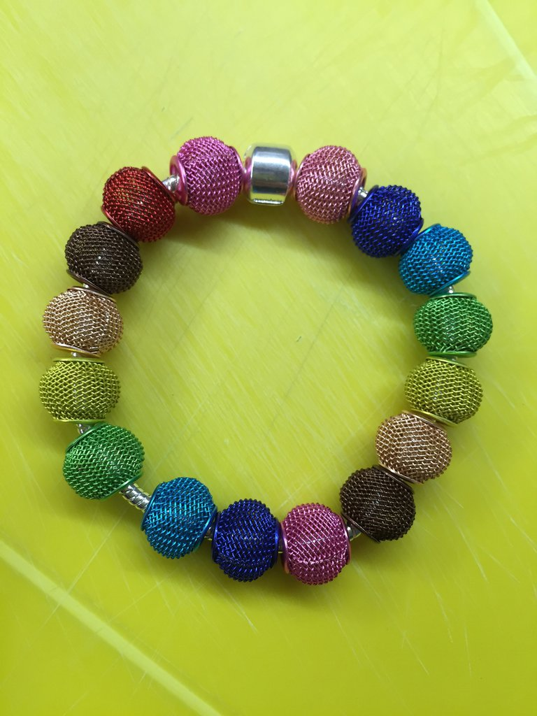 Bracciale argento di perle
