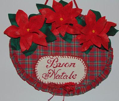 Decorazione romantica natalizia