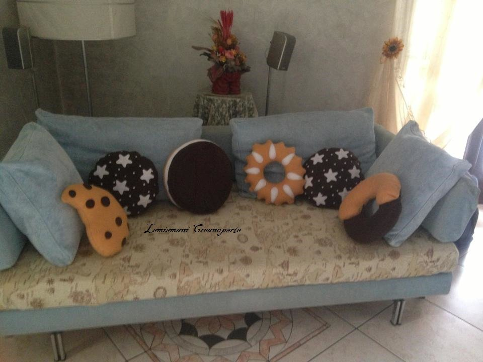 Cuscini a forma di biscotti 13 modelli disponibili SCEGLI TU idea regalo San Valentino