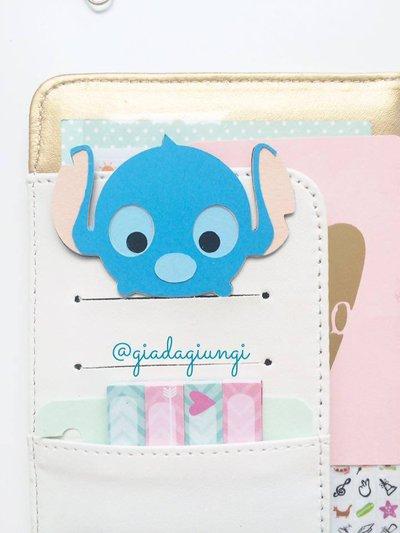 Paperclip tsum tsum - stitch