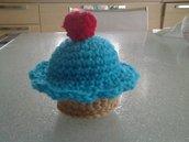 Colorato cupcake amigurumi